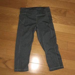 Pants - Cropped Grey Leggings